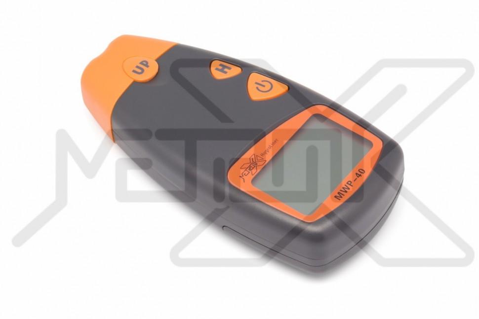 Влагомер древесины HygroLiner MWP-40 Измеритель влажности древесины 5-40%. Влагомер древесины имеет 4-х контактный встроенный игольчатый датчик влажности. Удержание показаний.