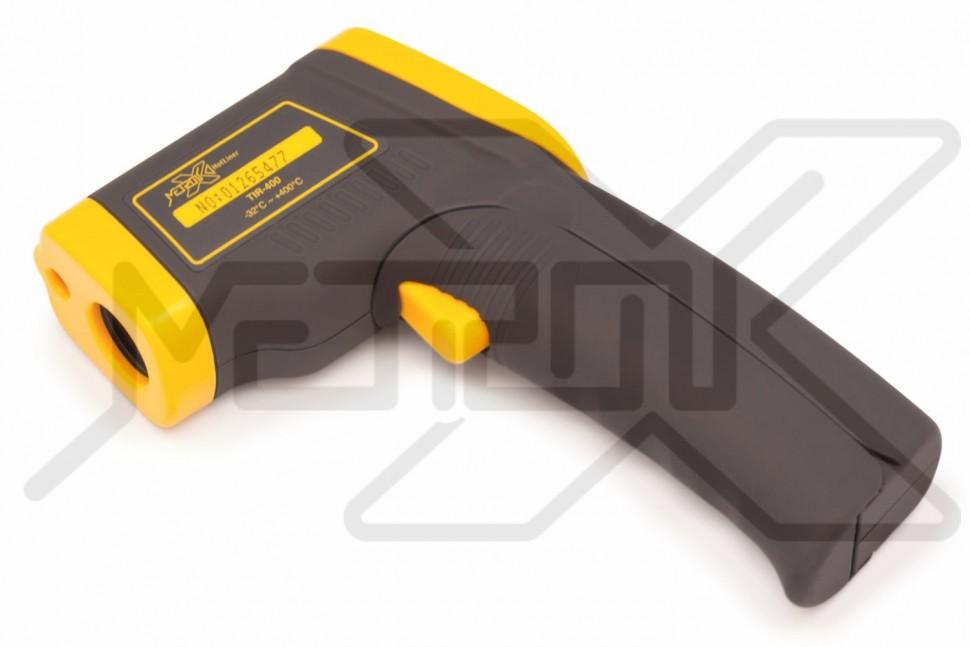Инфракрасный термометр HotLiner TIR-400 Инфракрасный термометр для бесконтактного измерения температуры в диапазоне -32°C - +400°C. Оптическое разрешение 12:1. Коэффициент эмиссии 0,95. Лазерный целеуказатель.